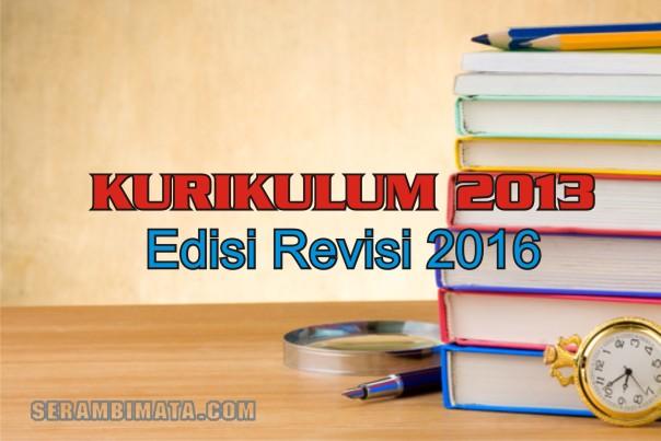 kurikulum 2013 edisi 2016