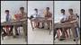 Sedih dan Miris! Siswa SMA Merokok dan Ongkang Kaki Di SampingGuru