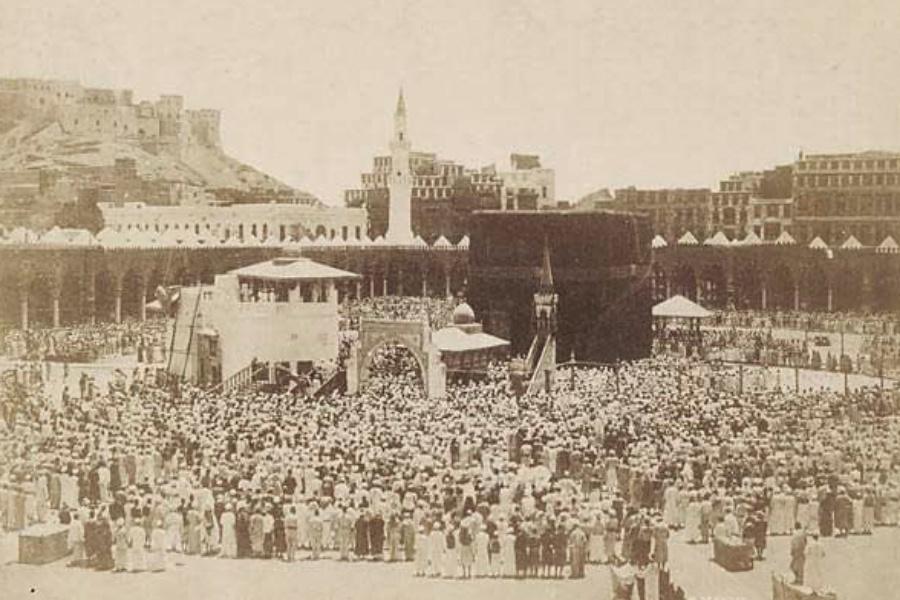 Hasil gambar untuk tahlilan di mekkah