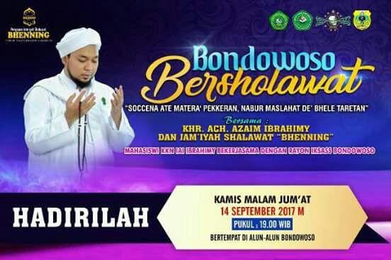 Serambimata Com Malam Nanti Kamis Umat Islam Pencinta Sholawat Dan Pengikut Setia Jamiyah Sholawat Bhenning Yang Dikenal Dengan Bhenning