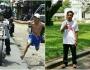 Ariyanto, Pria yang Lari Mengejar Sang Idola Akhirnya Sampai keIstana